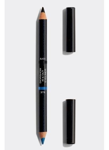 Dior Dior Diorshow In&Out Eyeliner 01 Blue/Black Siyah